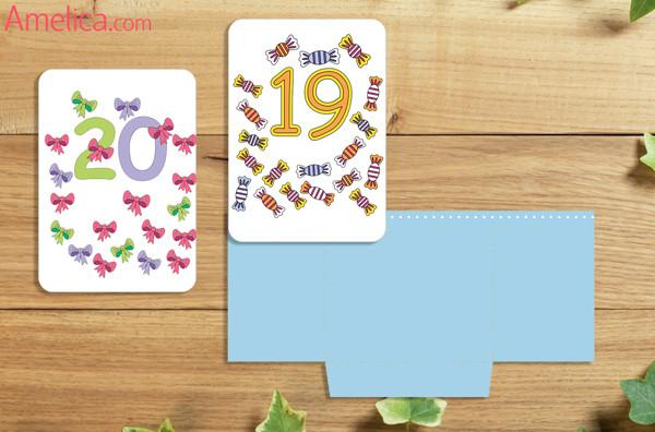 развивающие карточки, картинки цифры, счет от 11 до 20 для детей 2,3,4,5,6 лет