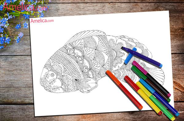 раскраски арт-терапия, раскраски антитресс скачать бесплатно, раскраски для взрослых распечатать