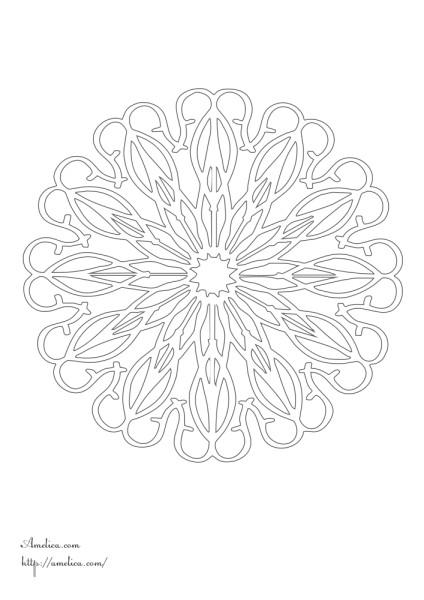 Раскраски кружево