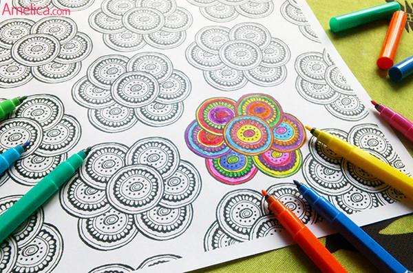 арт терапия раскраски, арт-терапия рисунки, арт-терапия картинки скачать