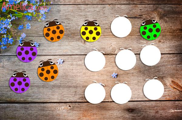 развивающие игры для детей, дидактические игры для детей, игра учим цвета