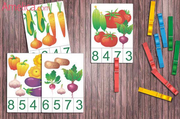 Развивающие карточки, картинки цифры, скачать карточки цифры, счет от 1 до 10