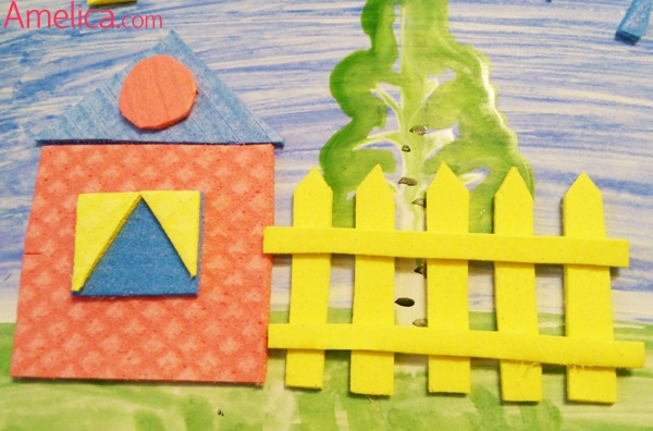 Аппликация в детский сад, объемная аппликация для детей 3 - 5 лет