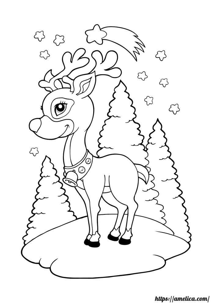 раскраска ёлочка, раскраска Новый год, раскраски зимние забавы