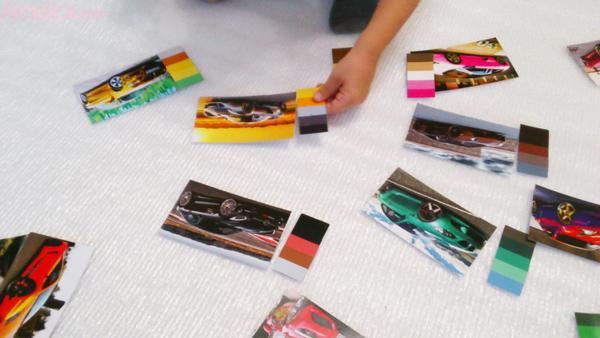 арт лото для мальчиков, арт — лото для детей, цветовые палитры