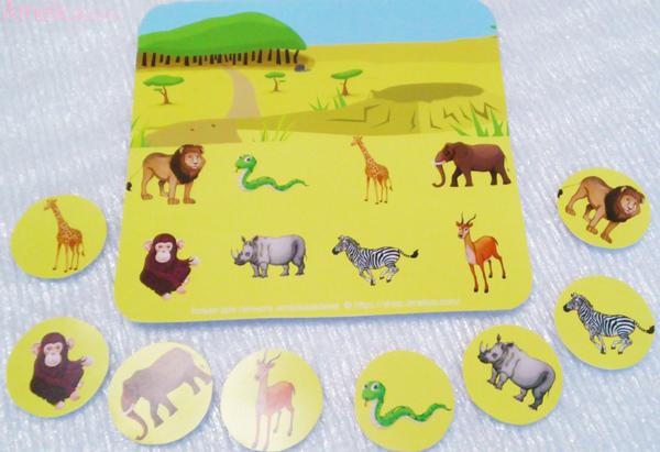изучаем животных, детское лото, развивающее лото