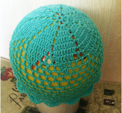 летняя шапочка для девочки крючком схемы и