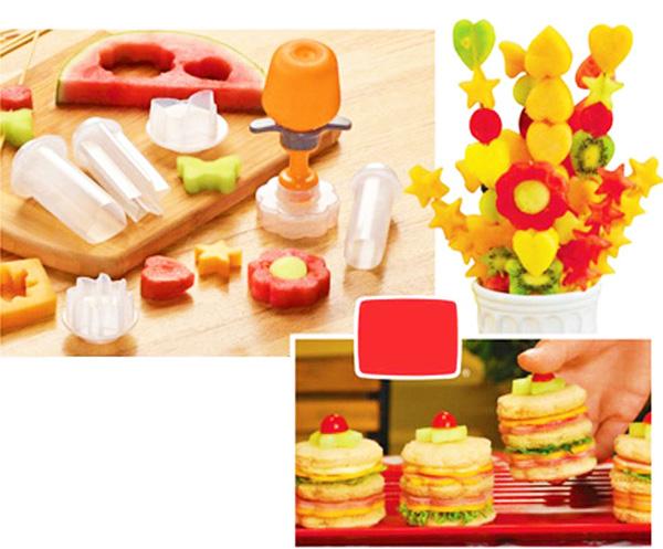 приспобления для приготовления еды, приспособления для украшения детской еды
