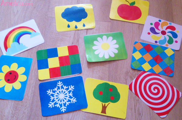 Цветные картинки для малышей, цветные карточки для новорожденных, развивающие карточки для малышей