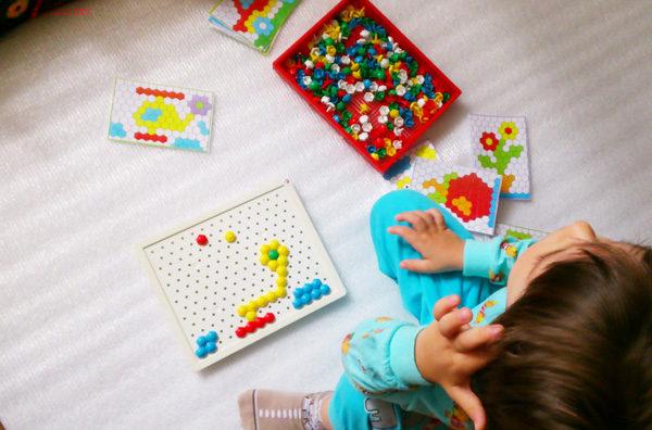 занятия мозаика дома, занятия мозаика в детском саду, схемы мозаики для детей