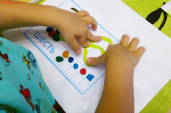 занятия с пластилином для детей, занятие пластилином, занятия лепка пластилина