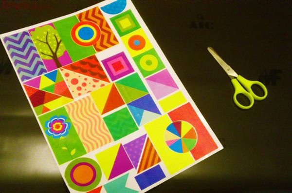магнитная мозаика своими руками, шаблоны мозаики скачать