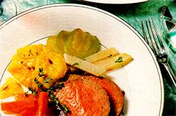 говядина с картошкой на ужин