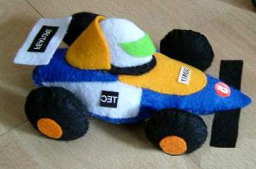 мягкая игрушка машина, мягкая игрушка машина выкройка, гоночная машина