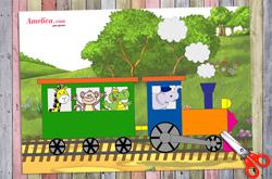 аппликация для детей паровоз из бумаги, аппликация для детского сада