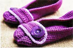 вязание тапочек крючком для дома
