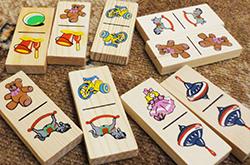 как играть в детское домино с детьми