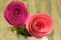 простая роза из бумаги своими руками мастер-класс