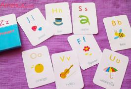 Карточки английский алфавит с картинками для детей скачать бесплатно