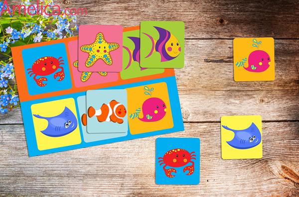 лото для детей с картинками, лото скачать бесплатно, лото распечатать