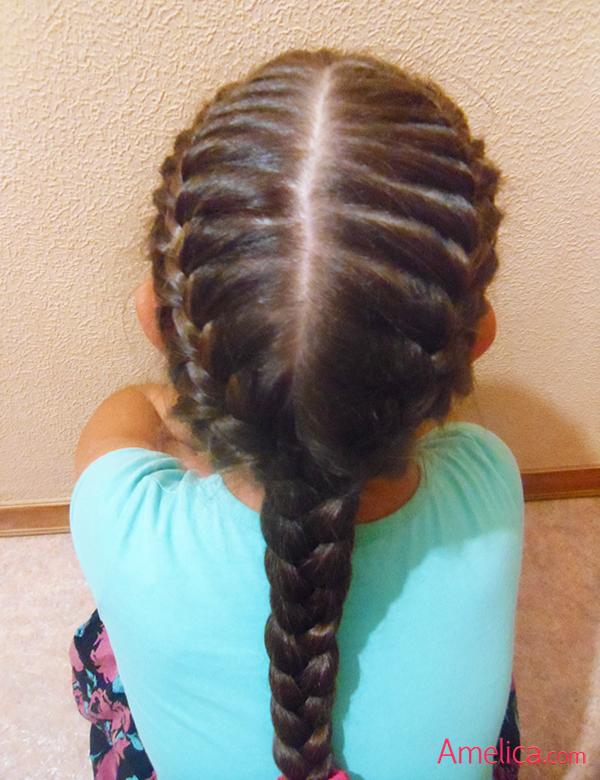 Фото красивых причесок из кос на длинные волосы 80
