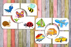 игра на обобщение, развивающие игры для детей 2,3,4 года