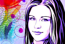 поп арт портрет, портрет в стиле поп арт, заказать портрет поп арт