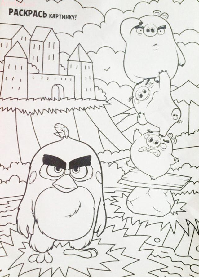 Энгри бердз журнал, angry birds в кино