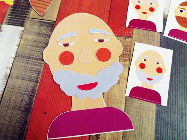 игра собери лицо, игра собери портрет