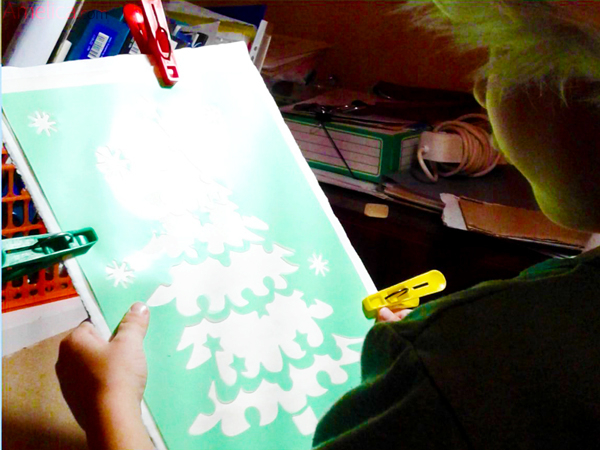 новогодние поделки своими руками, новогодняя поделка в десткий сад, трафареты для детей