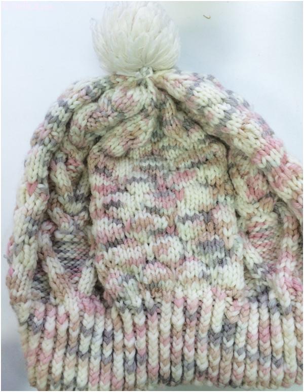 шапка вязанная спицами схема, шапки вязать спицами схемы
