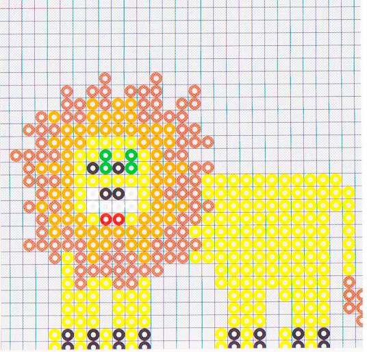 Детская термомозаика, термомозаика картинки и схемы