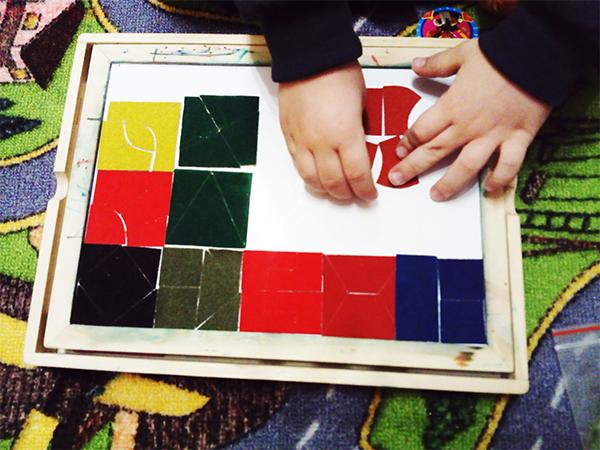 головоломка Никитина, игра сложи квадрат, развивающие игры никитина