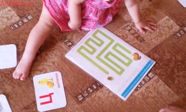 умение ориентироваться на плоскости, проводилки для малышей