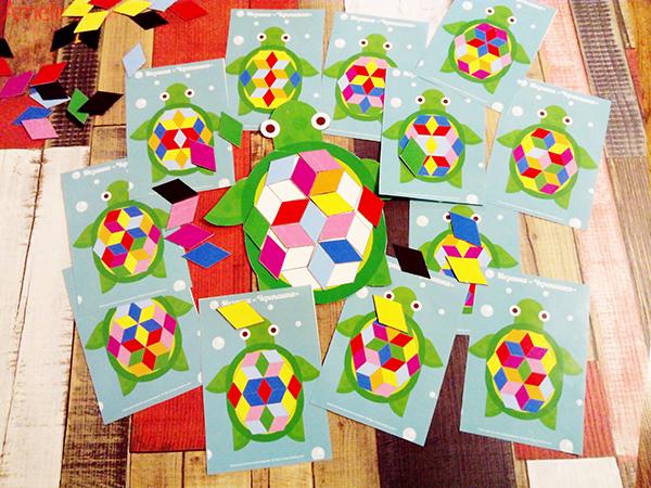 Развивающая мозаика — головоломка, скачать мозаику для детей,