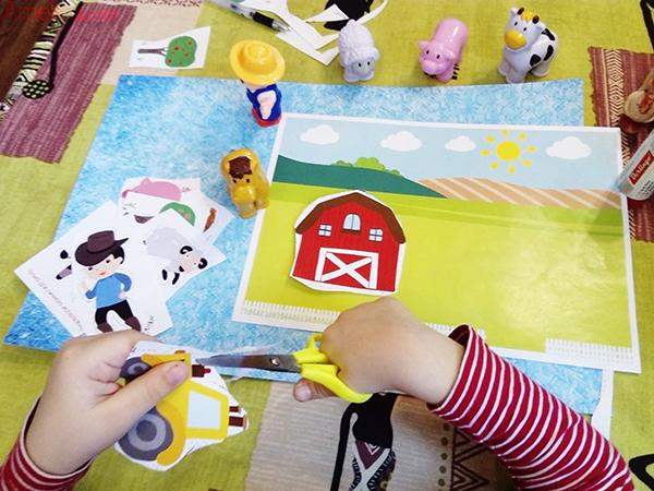 аппликация с животными для малышей, шаблоны аппликации для малышей,