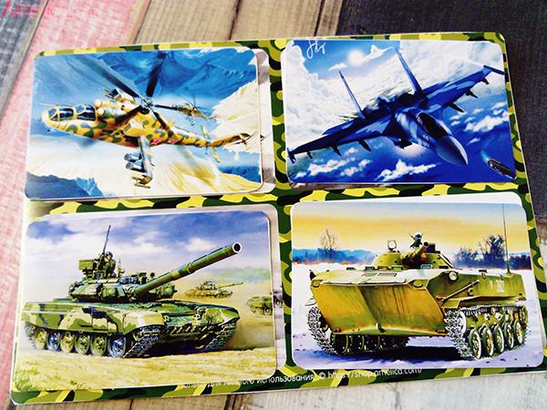 настольные игры для мальчиков, игры ко Дню Защитника Отечества, лото военная техника